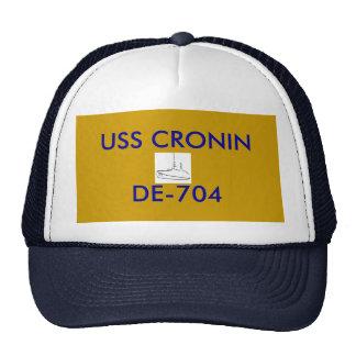 USS CRONIN HAT