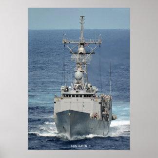 USS Curts Print