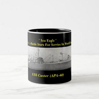 USS Custer (APA-40) Coffee Mug