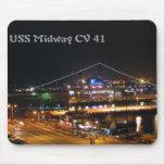 USS CV41 intermediario Tapetes De Raton
