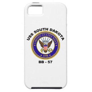 USS Dakota del Sur (BB-57) iPhone 5 Funda