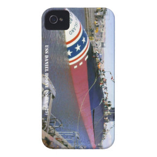 USS DANIEL BOONE iPhone 4 Case-Mate CASE