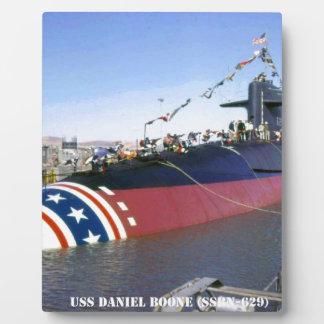 USS DANIEL BOONE PLAQUE