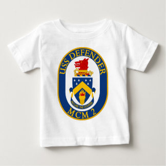 USS Defender - MCM 2 - Secure The Course Baby T-Shirt