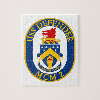 USS Defender - MCM 2 - Secure The Course Jigsaw Puzzle