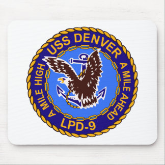 USS DENVER TAPETES DE RATONES