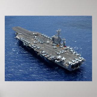 USS Dwight D. Eisenhower (CVN 69) Poster