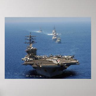 USS Dwight D. Eisenhower Print