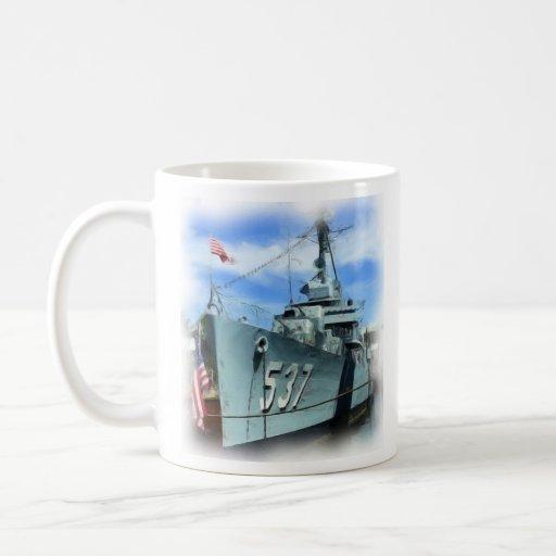 USS el Sullivans (DD-537) Taza De Café