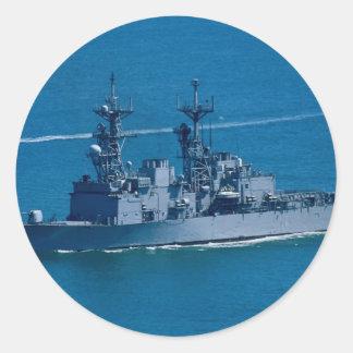 USS Elliott San Diego California U S A Round Sticker