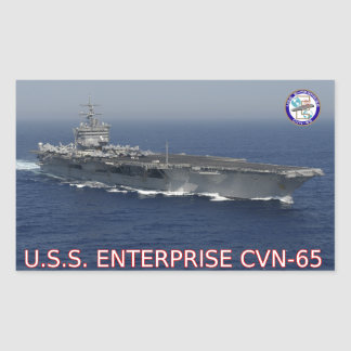 USS Enterprise CVN-65 Sticker