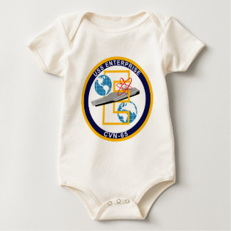 "USS Enterprise - CVN 65 - ""The Big E"" Baby Bodysuit"