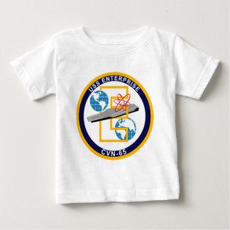 """USS Enterprise - CVN 65 - """"The Big E"""" Baby T-Shirt"""