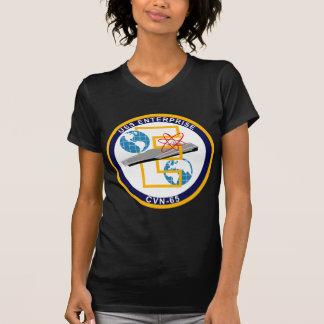 """USS Enterprise - CVN 65 - """"The Big E"""" T-Shirt"""