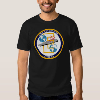 "USS Enterprise - CVN 65 - ""The Big E"" Tee Shirt"