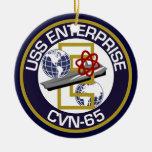 USS Enterprise del remiendo solamente - Ornamentos De Reyes Magos