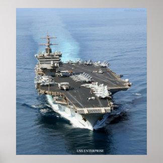 USS Enterprise Posters