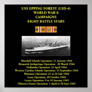 USS EPPING FOREST (LSD-4) POSTER