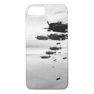 USS ESSEX based TBMs and SB2Cs_War Image iPhone 8/7 Case