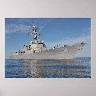 USS Forrest Sherman (DDG 98) Poster