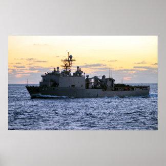USS Fort McHenry (LSD 43) Poster
