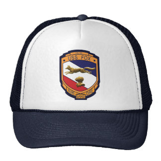 USS Fox (CG-33) Trucker Hat (Multi-Colors)