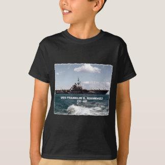 USS FRANKLIN D. ROOSEVELT CV-42 Dark T-Shirt