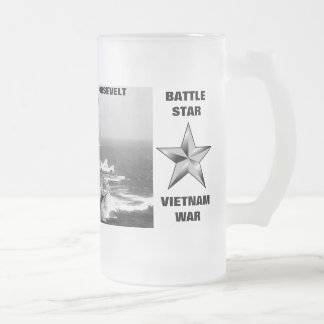USS FRANKLIN D. ROOSEVELT (CVA-42) COFFEE MUG