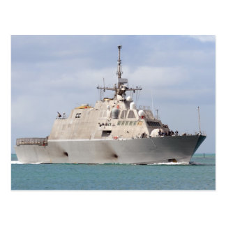 USS Freedom LCS 1 Post Card