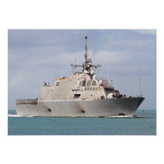 USS Freedom (LCS 1) Poster