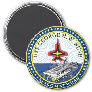 USS George H W Bush CVN-77 Magnet