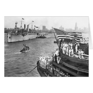 USS George Washington Greeting Card