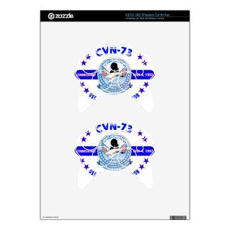 USS GEORGE WASHINGTON CVN-73  NAVY CARRIER XBOX 360 CONTROLLER DECAL