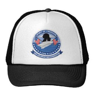 USS George Washington - CVN 73 - Spirit Of Freedom Trucker Hat