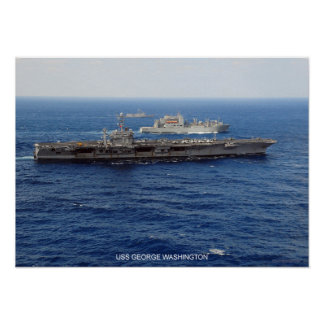 USS George Washington Posters