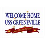 USS Greeneville casero agradable Tarjeta Postal