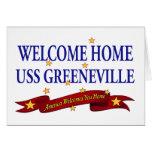 USS Greeneville casero agradable Tarjetas