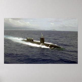 USS Greenville (SSN 772) Poster