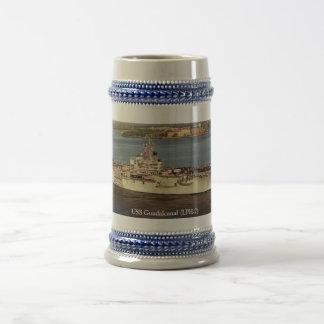USS GUADALCANAL (LPH-7) COFFEE MUGS