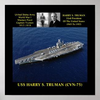 USS HARRY S. TRUMAN (CVN-75) POSTER