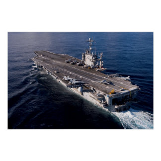 USS Harry S. Truman (CVN 75) Poster