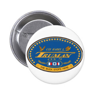 USS Harry S Truman Pinback Button