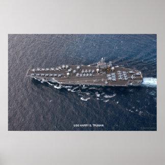 USS Harry S. Truman Poster