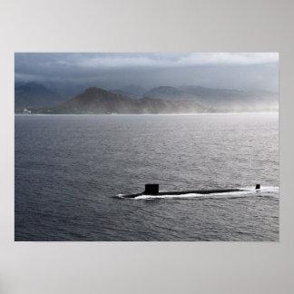 USS Hawaii (SSN 776) Posters
