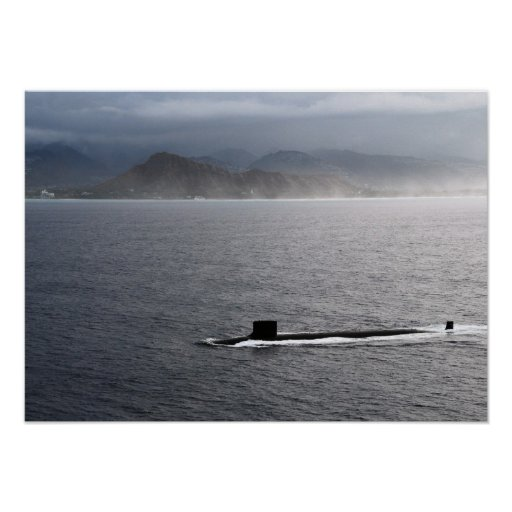 USS Hawaii (SSN 776) Poster