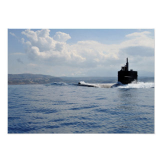 USS Helena (SSN 725) Poster