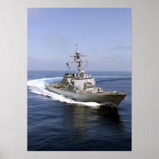 USS Higgins DDG 76 Posters