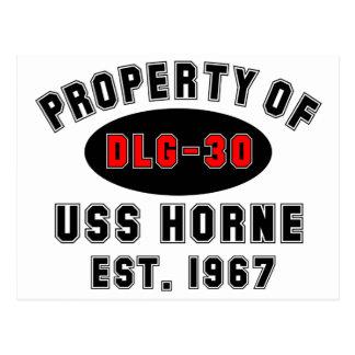 USS Horne DLG-30 Postcard
