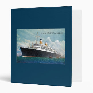 USS Independence & SS Constitution Vintage Binder