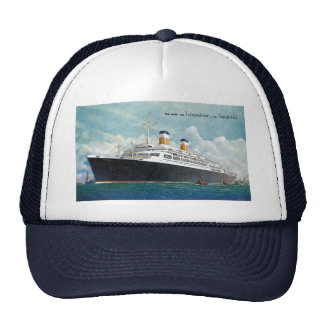 USS Independence & SS Constitution Vintage Trucker Hat
